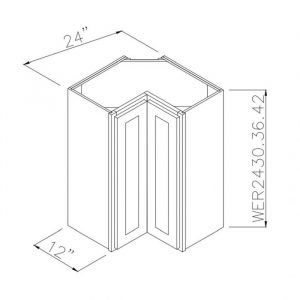 """24"""" x 30"""" Wall Easy Reach Cabinet WER2430"""